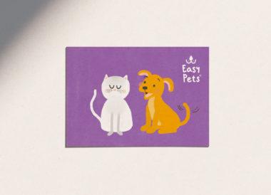 Easypets voorkant kaart